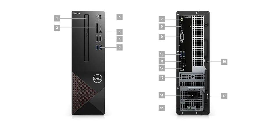 PC Dell Vostro 3681st i3